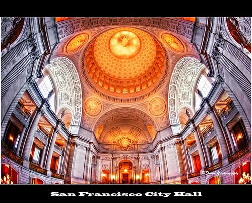 San Francisco City Hall by davidyuweb