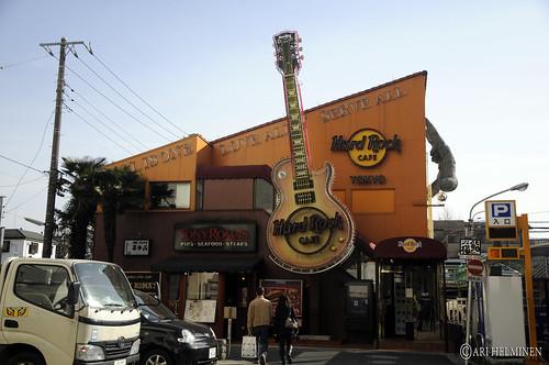 Hard rock cafe Tokyo, Japan 東京 日本