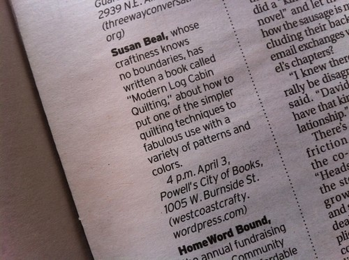 nice Powell's preview in the Oregonian!