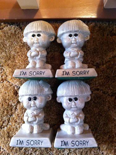 I'm Sorry Four Times