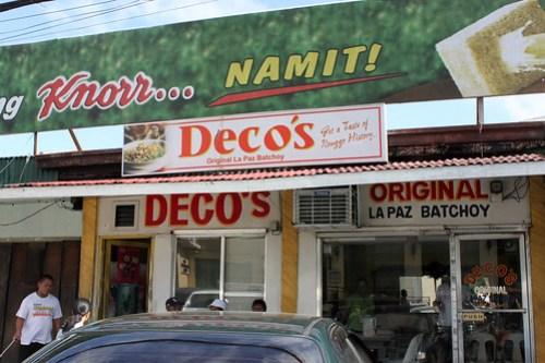 Deco's Original Lapaz Batchoy Storefront