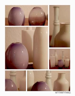 {white vases}