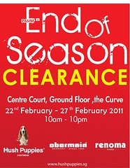 End of Season Clearance Hush Puppies, Obermain & Renoma footwear 22 - 27 Feb 2011