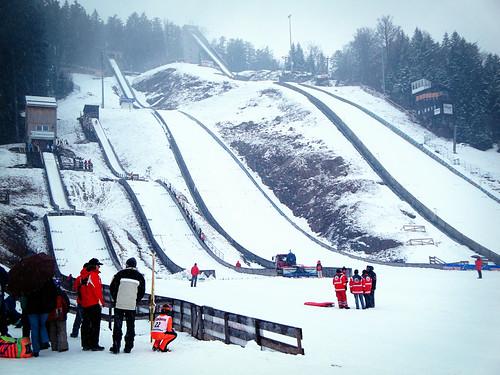 ski practice.