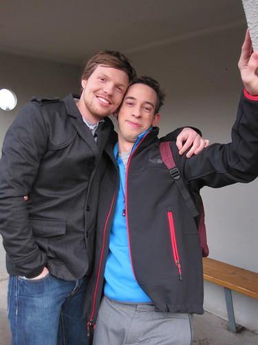 Jens en z'n broer Stijn