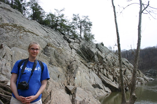 Billy Goat Trail - Vicky by Rock Wall (By Ryan Somma)