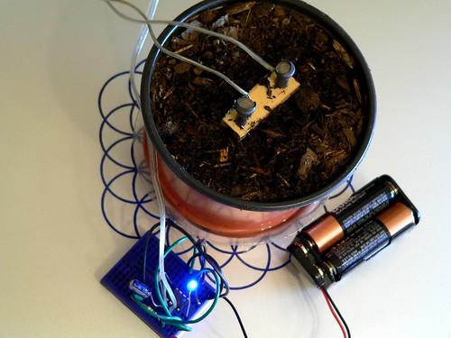 Soil Moisture Sensor based on 555 Timer