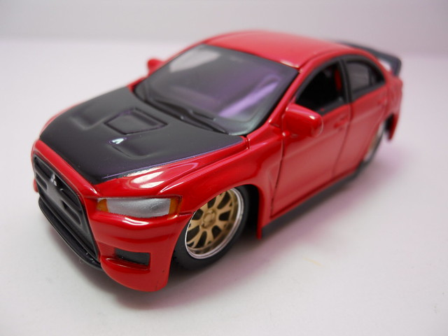 maisto custom shop fifty 5's mitsubishi lancer evolution (3)