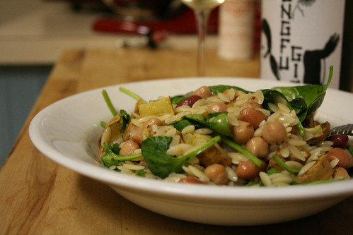 Orzo and Bean Salad