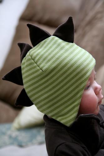 Winter Dino Hat