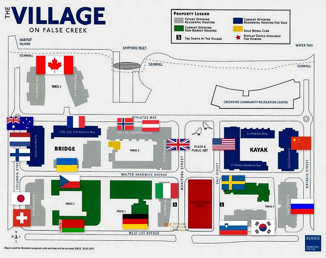 Village on False Creek - Olympic Nations