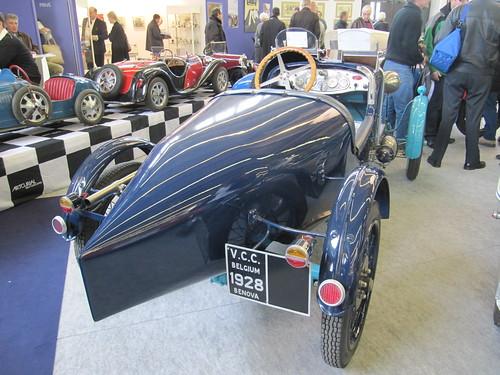 20110204 Paris Rétromobile - BENOVA B3 BIPLACE SPORT -(1928)-2