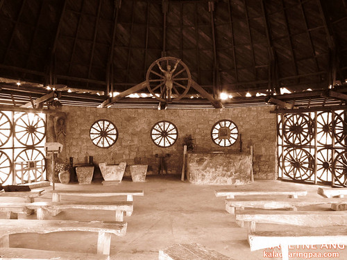 Inside the Chapel of Cartwheels 3