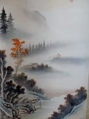 Landscape scroll (detail)