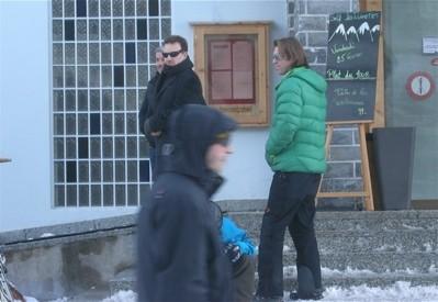 bono en la estación de ski de Verbier