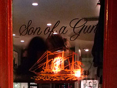 Front Door close up, at Son of a Gun