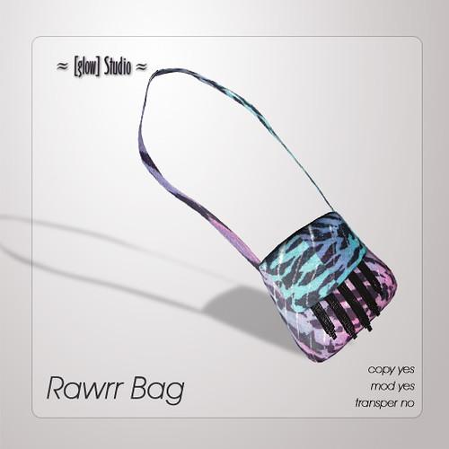 [ glow ] studio - Rawrr bag