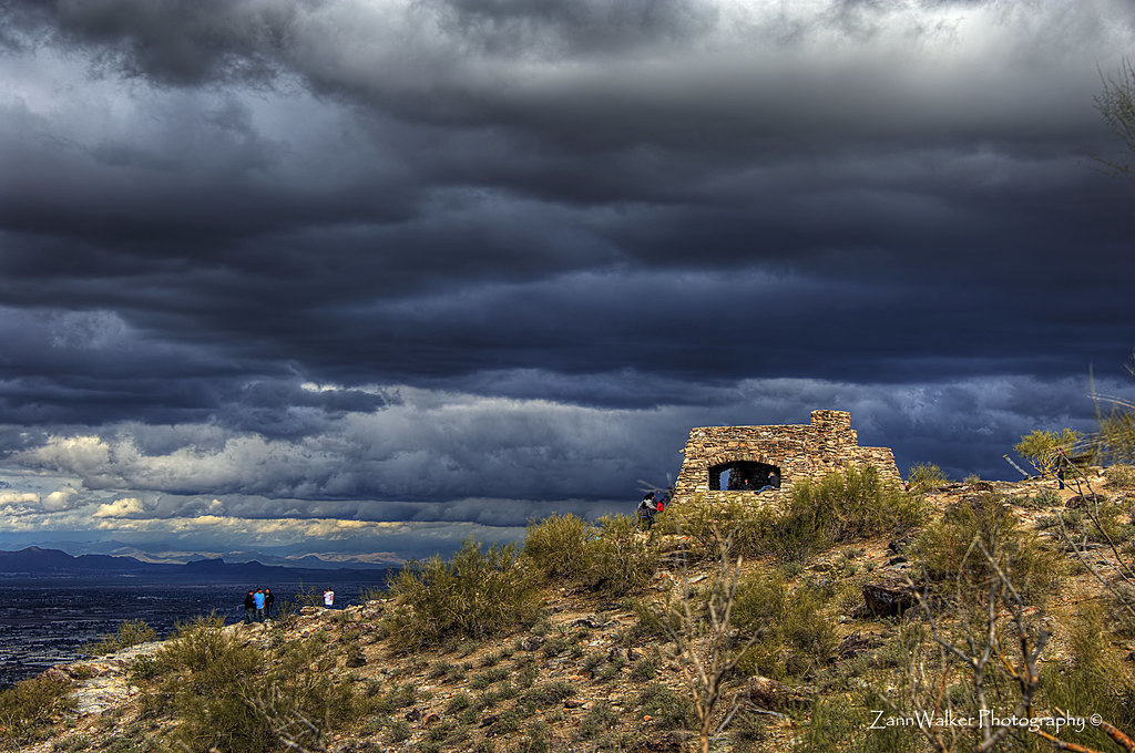 Storm Clouds at Dobbins Lookout