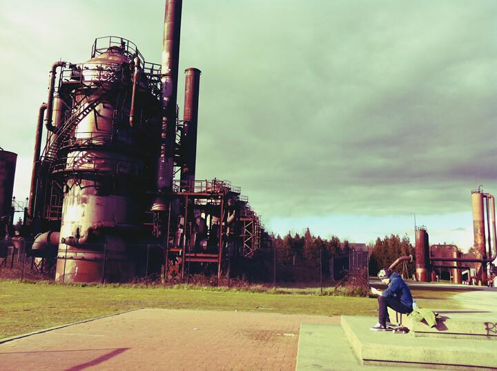 gasworks