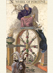 aiselle's wheel by Grand Ellessia Tarot Cards