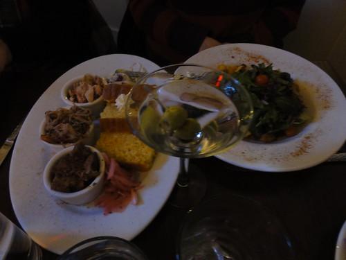 Tim's dinner at Chicago q