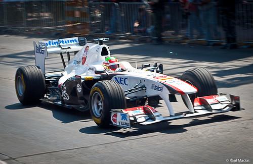 Checo Perez Sauber C29