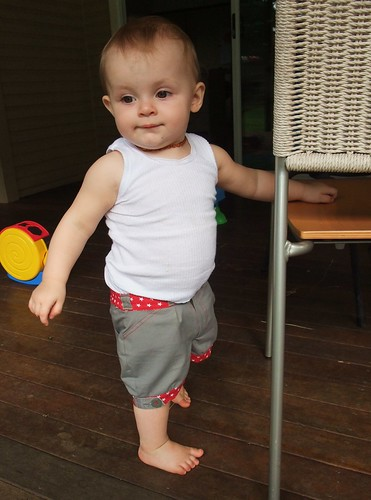 Little Star Upcycled Shorts - Action 4