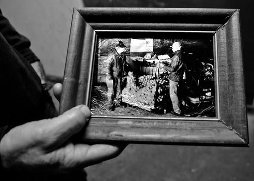 Potato Farmer Historic Photo