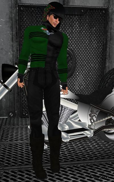 Wicked - Green Bad Boy Racing Suit