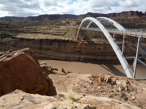 Hite Crossing Bridge in Glen Canyon