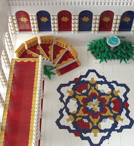 LEGO Katie Walker Eilonwy77 Grand Staircase in Queen's Palace