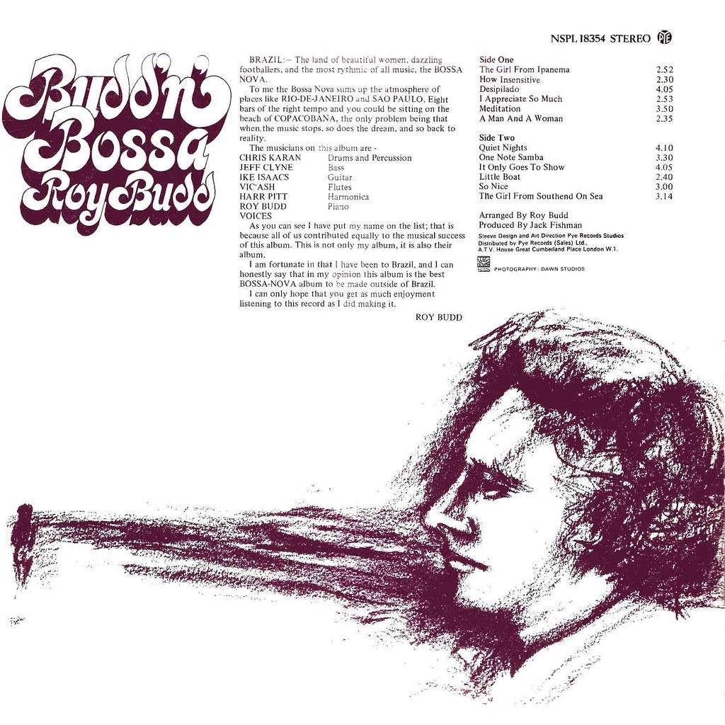 Roy Budd - Budd'n' Bossa
