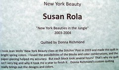 New York Beauty Quilt Extravaganza