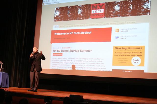 The NY Tech Meetup