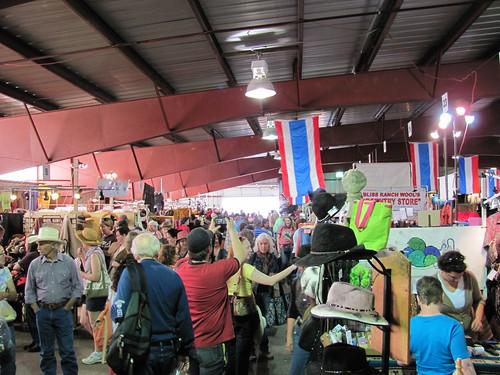 busy wool market 1