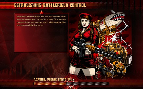 Red Alert 3 loading screen