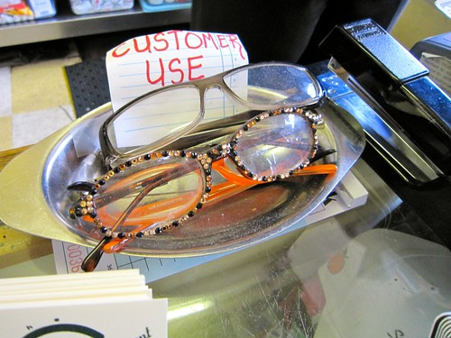 Reading Glasses for Customer Use Silver Skillet Atlanta GA