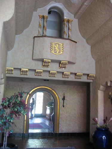 entrance to building - 1920's detailing