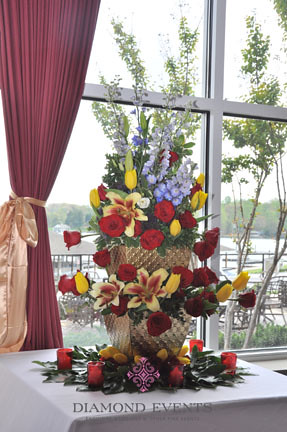 Tall Flower Arrangment by Corsair