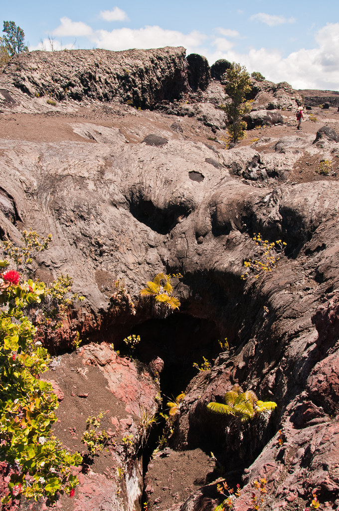 The fissure of the 1969 eruption