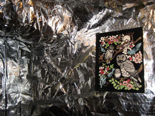 Art on foil