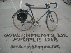 Bradley Manning Solidarity Bike Ride, Pittsbur...