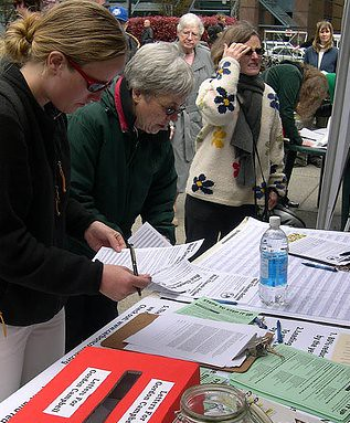 Petition table
