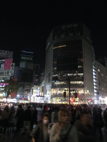 Lights out in Shibuya