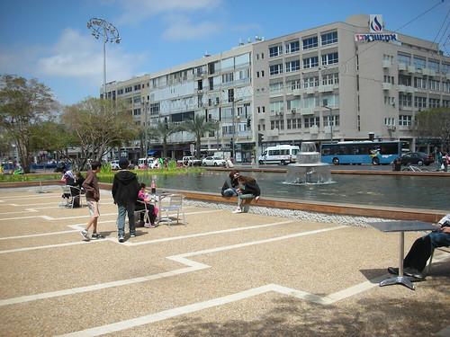 Excellen Public Space in Rabin Square
