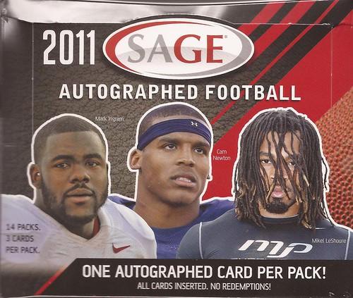 2011 SAGE Autographed box