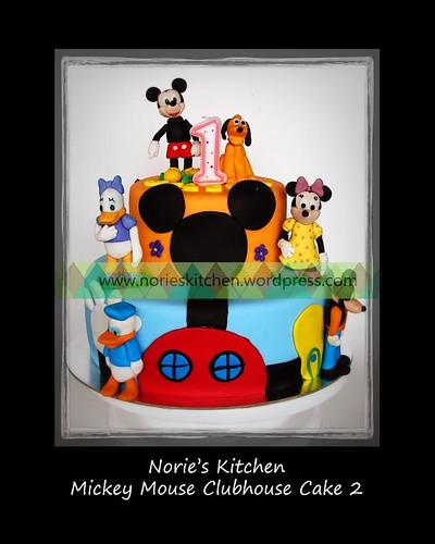 Norie's Kitchen - Mickey Mouse Clubhouse Cake 2