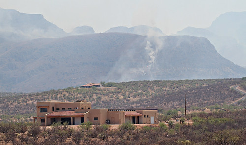 Arizona wildfires by SearchNetMedia