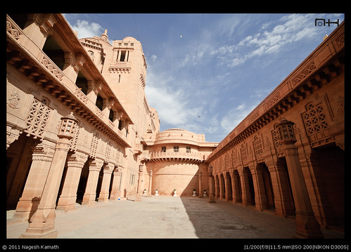 Inside Umaid Bhavan Palace