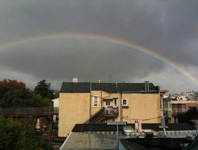 Bernalwood Rainbow!